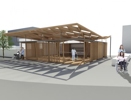 May 2016 - Appointed to Design Pavillion for Horatios Garden...