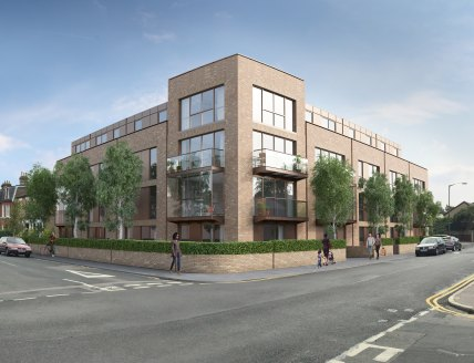November 2015 - Planning Submitted for Wimbledon Residential...